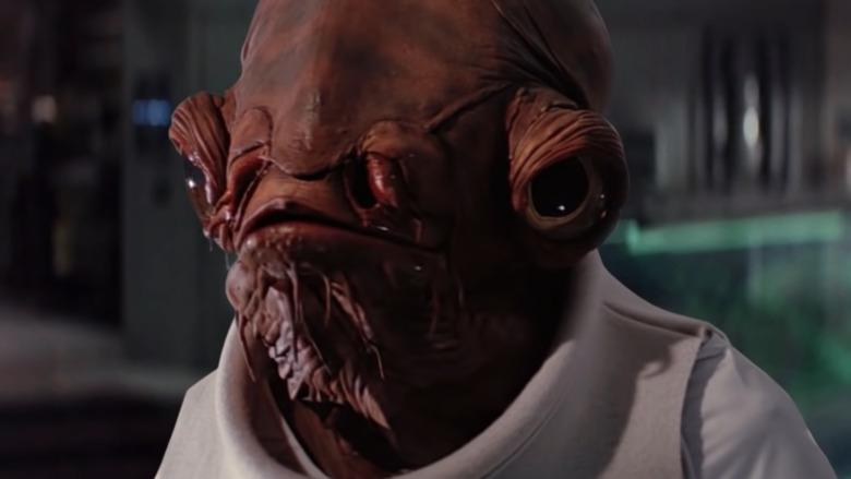 Admiral Ackbar in The Last Jedi