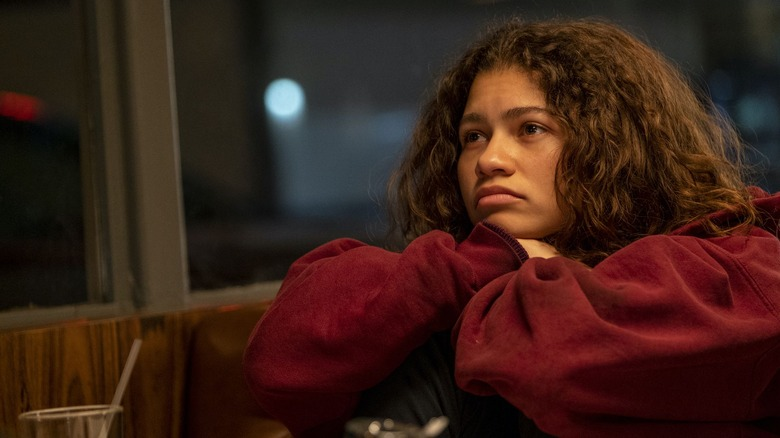 Zendaya as Rue Bennett on HBO's Euphoria