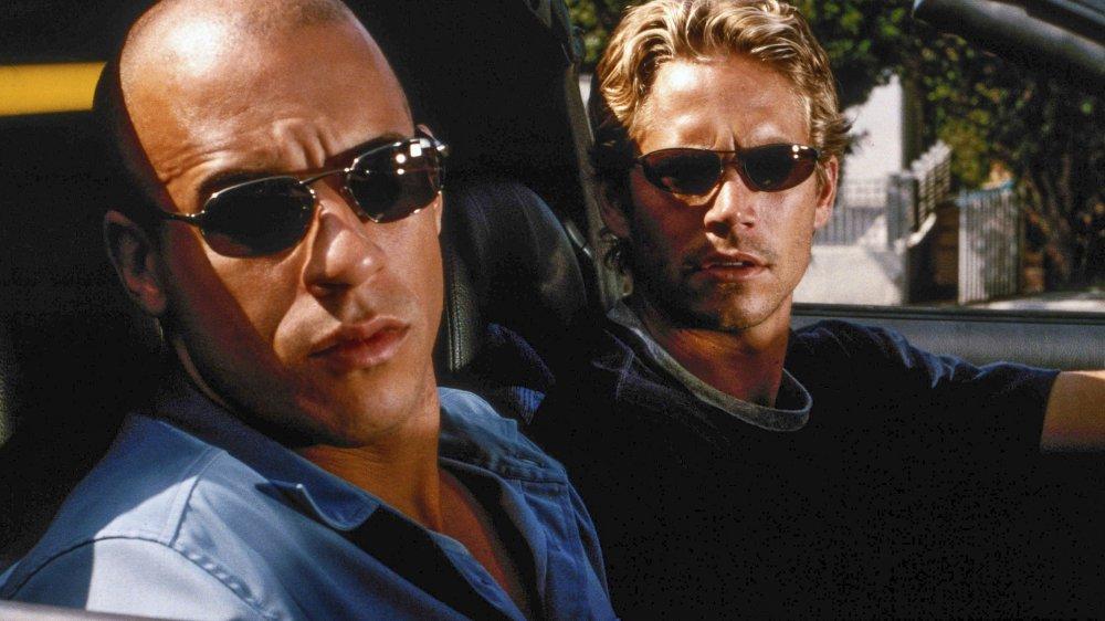 Dominic Toretto and Brian Conner