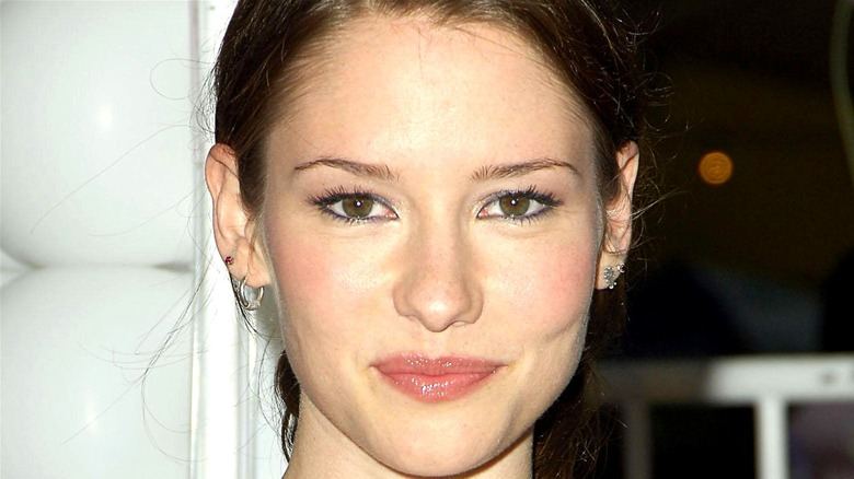Chyler Leigh appears at an event