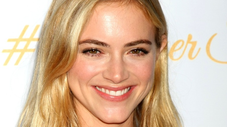 Emily Wickersham blonde smile
