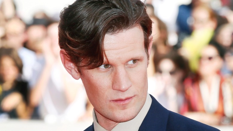 Matt Smith close-up