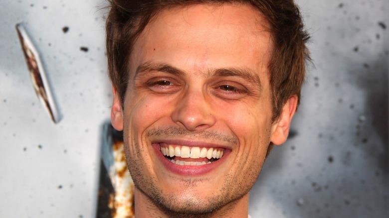 Matthew Gray Gubler smiling