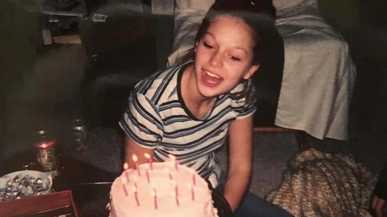 Young Melissa Benoist birthday