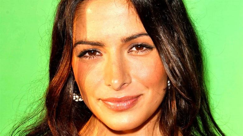 Sarah Shahi smiling