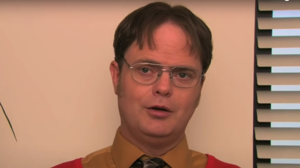 Dwight Schrute with normal hair