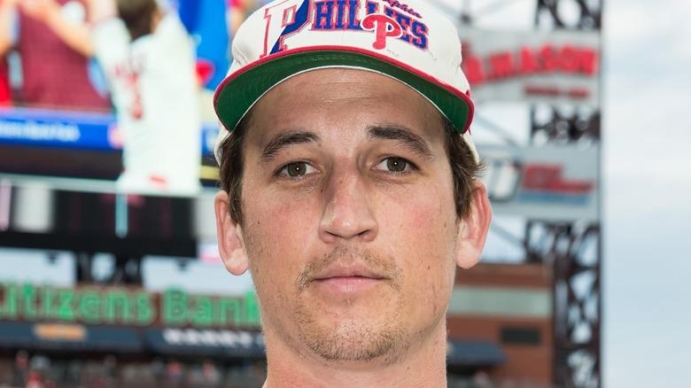 Miles Teller baseball hat