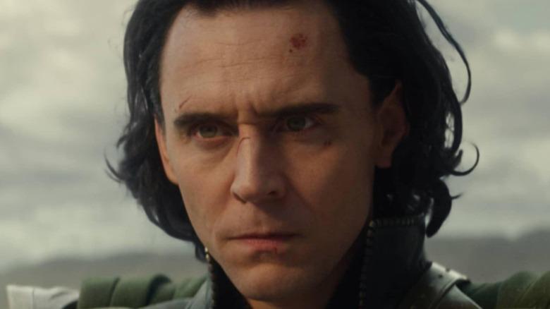 Loki looking tense