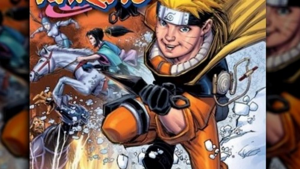 Controversial Naruto art