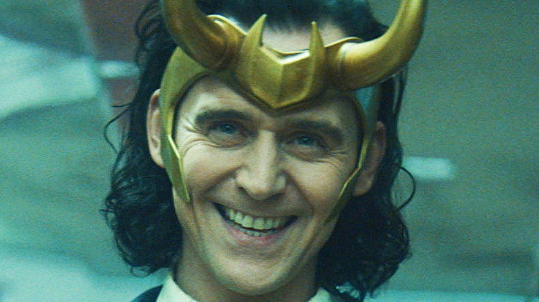 President Loki smiling