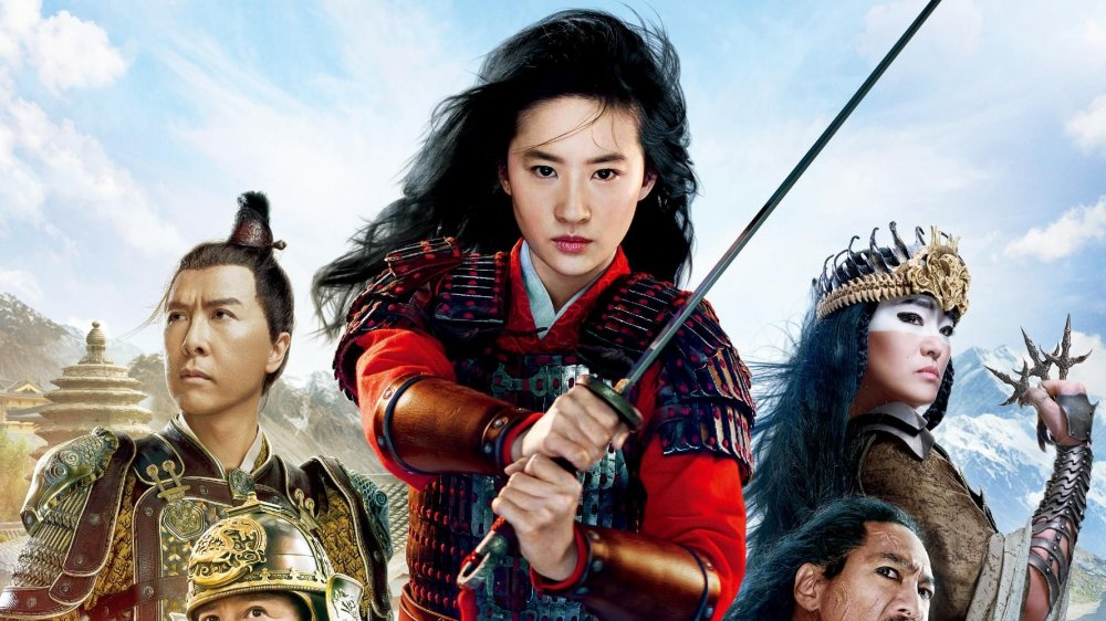 The cast of Disney's live-action Mulan