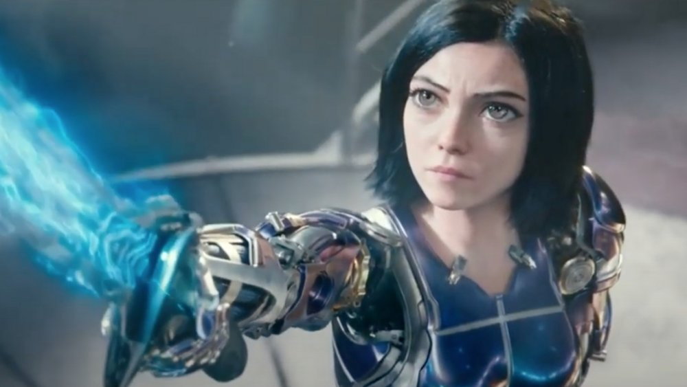 Rosa Salazar as Alita in Alita: Battle Angel