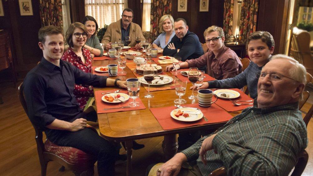 Reagan Family Dinner on Blue Bloods