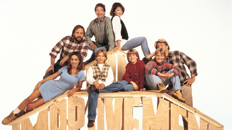 Tim Allen, Patricia Richardson, Jonathan Taylor Thomas, Zachery Ty Bryan, Richard Karn and cast from Home Improvement