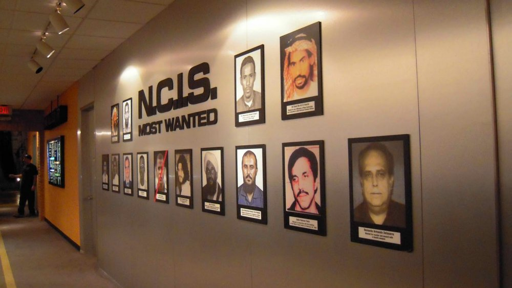 The most wanted wall on NCIS