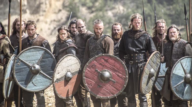 Vikings season 2 shields