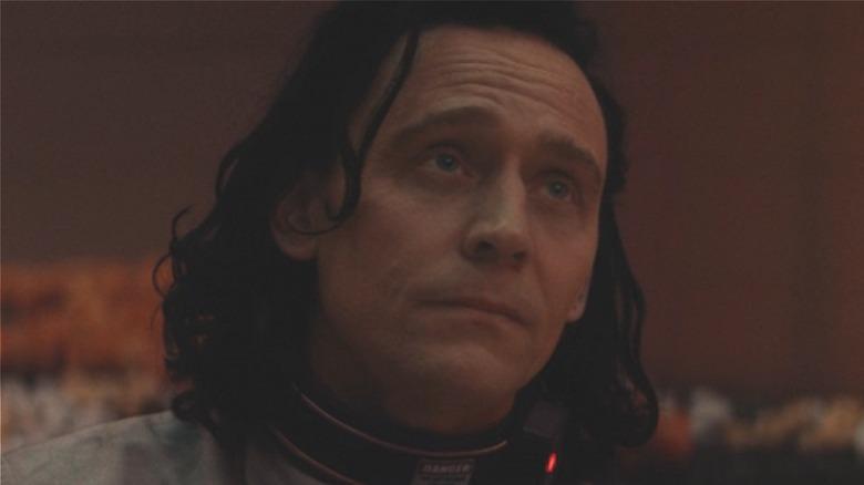 Loki raising eyebrows