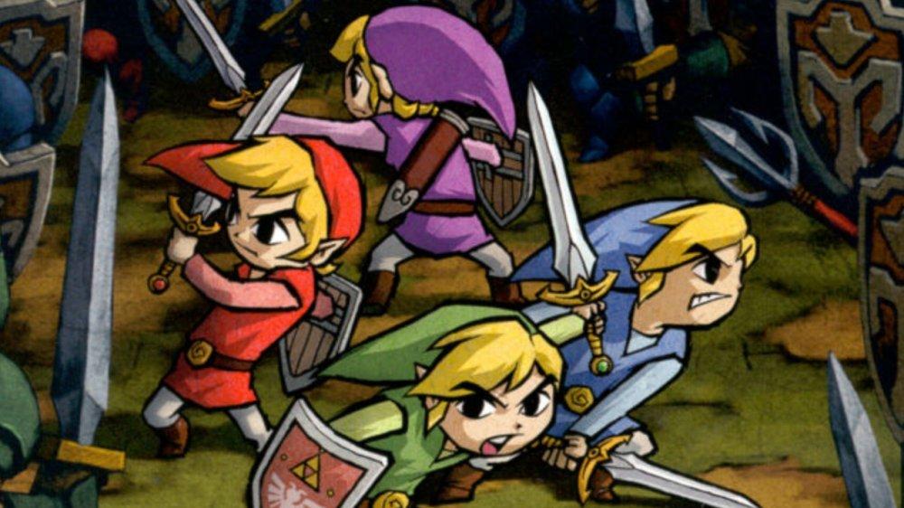 Legend of Zelda: Four Swords Links