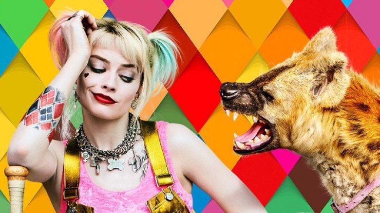 Margot Robbie Harley Quinn Birds of Prey poster