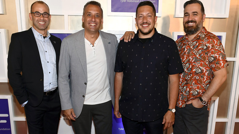The cast of Impractical Jokers