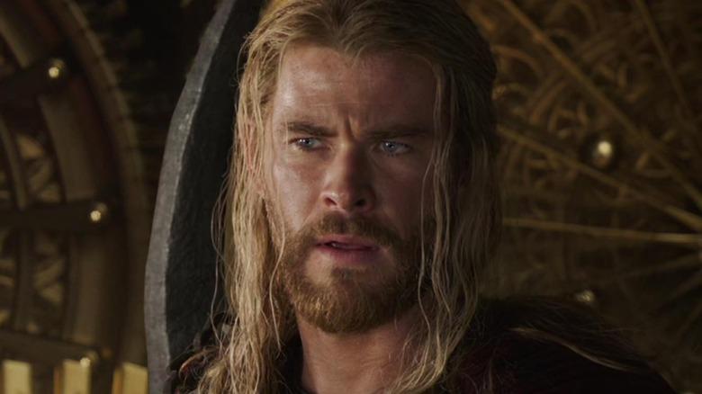 Thor looking perplexed
