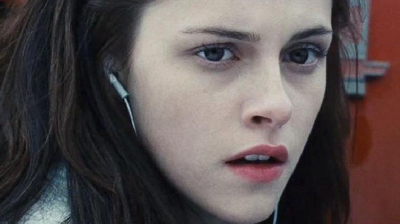 Bella looks shocked
