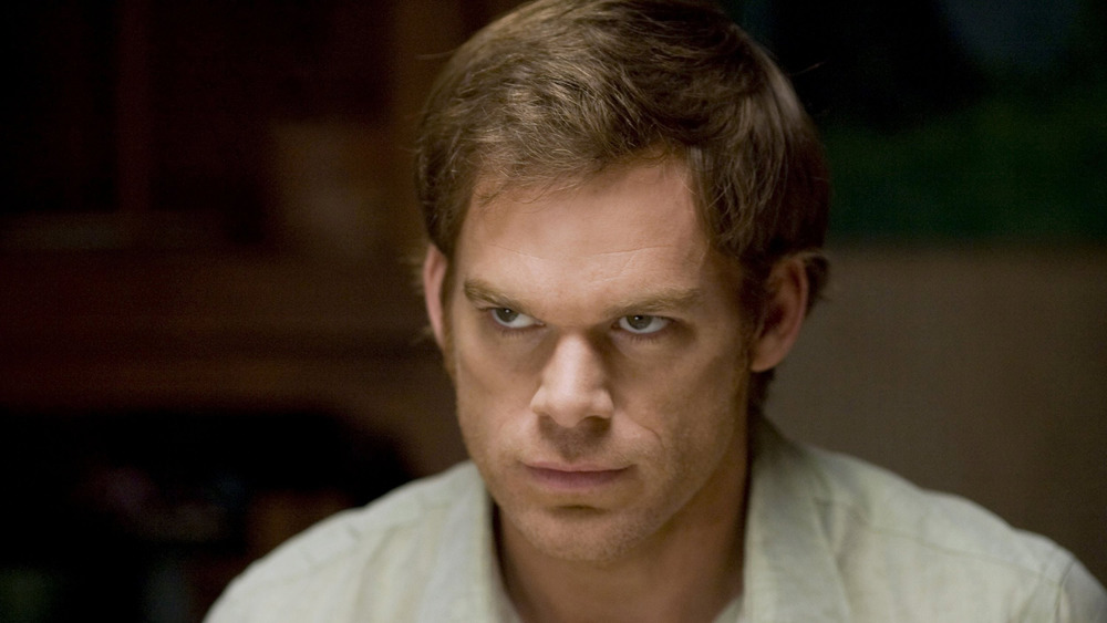 Michael C. Hall plays the titular serial killer on Dexter