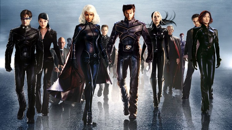 X2: X-Men United promo art