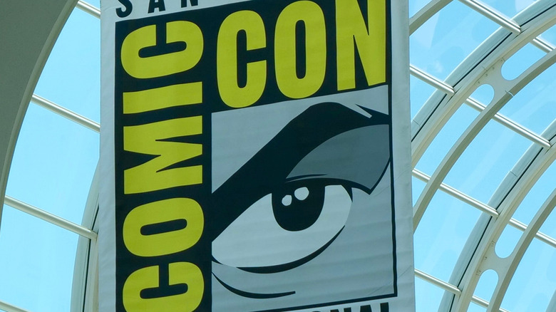 San Diego Comic-Con International sign
