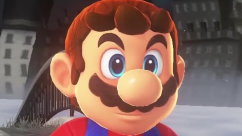 Hatless Mario