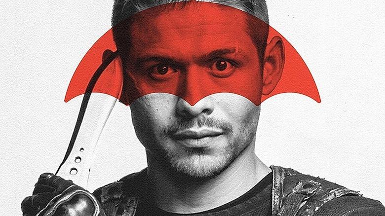 David Castañeda as Diego Hargreeves on The Umbrella Academy