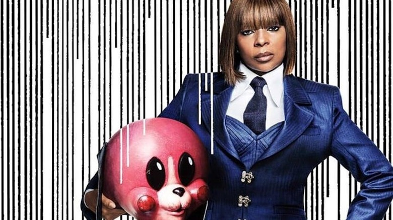 Mary J. Blige as Cha-Cha in The Umbrella Academy promo poster