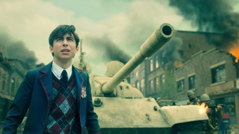Aidan Gallagher on The Umbrella Academy