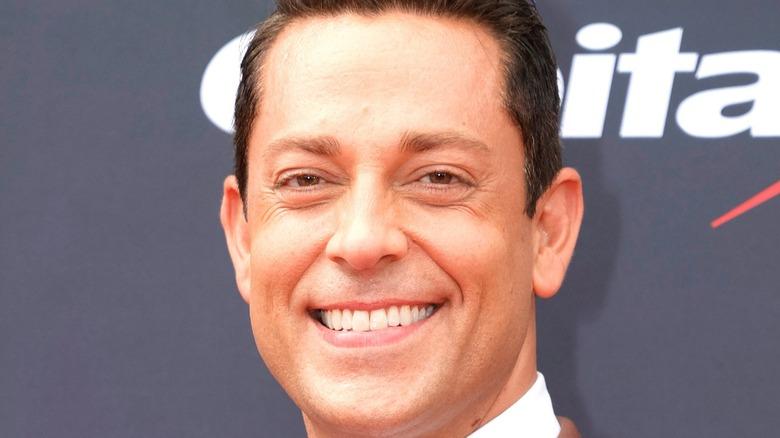 Zachary Levi smiles
