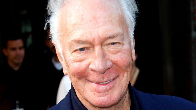 Christopher Plummer smiling