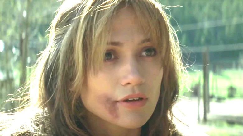 Jennifer Lopez looking stunned