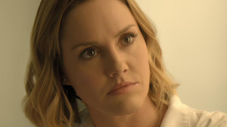 Erinn Hayes focused expression