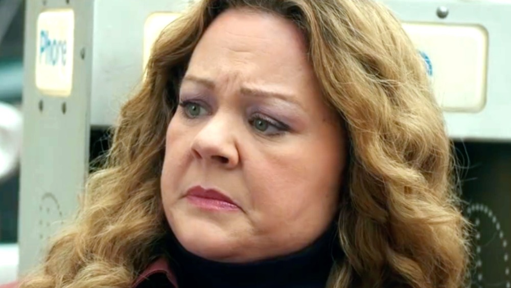 The Kitchen Melissa McCarthy frowning