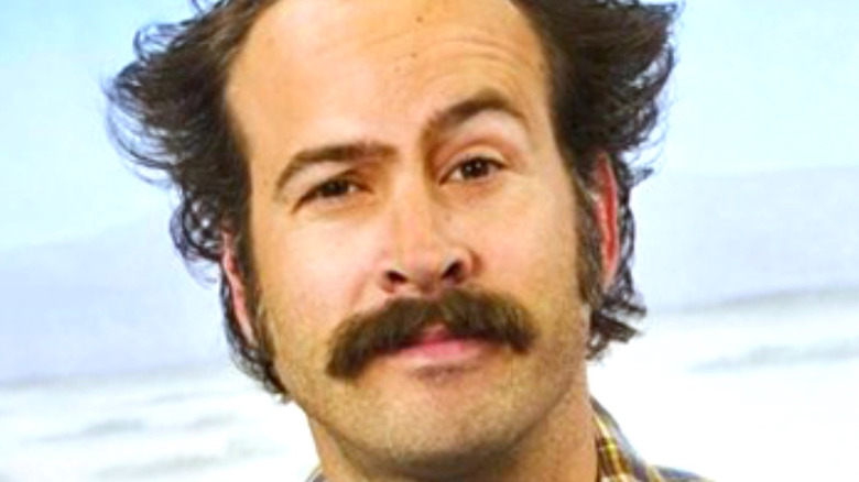 Jason Lee with mustache