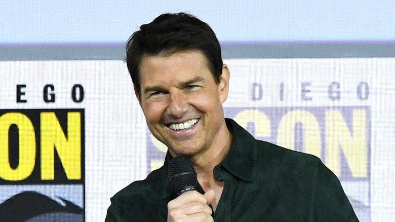 Tom Cruise at Comic Con