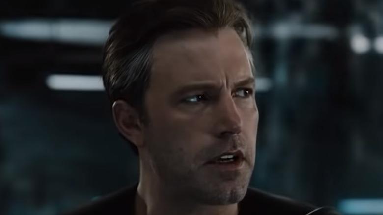 Ben Affleck Bruce Wayne concerned