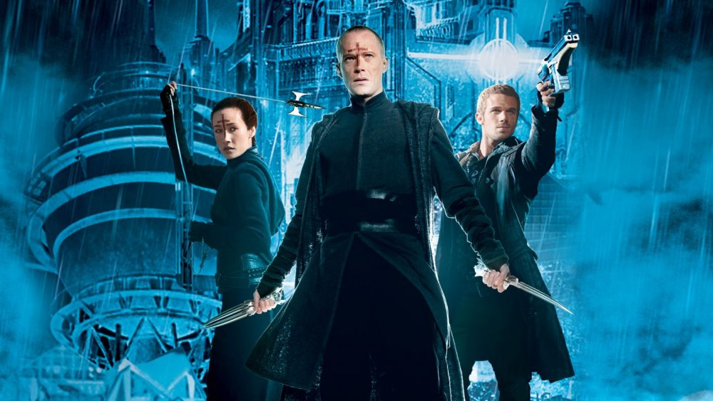 Maggie Q, Paul Bettany, and Cam Gigadnet from Priest poster