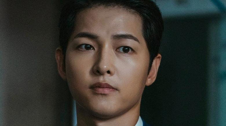 Song Joong-ki looking disappointed