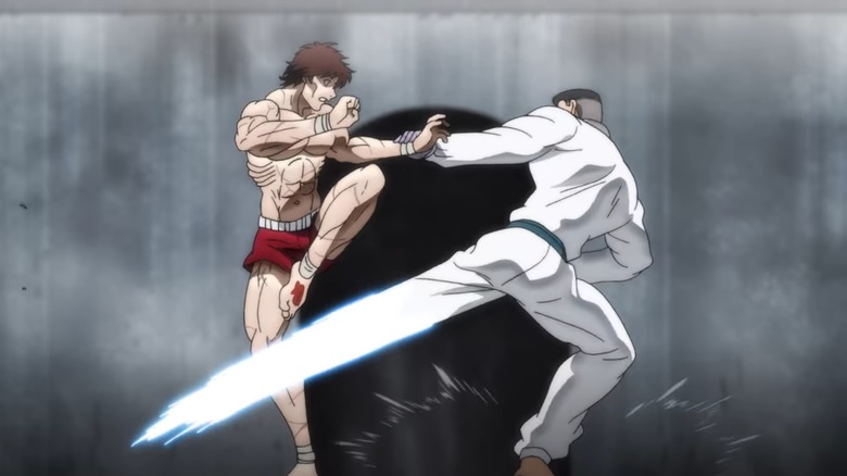 Baki in the heat of battle
