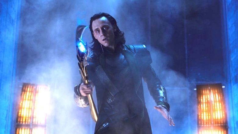 Tom Hiddleston as Loki in Avengers