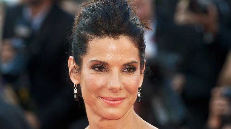 Sandra Bullock smiling