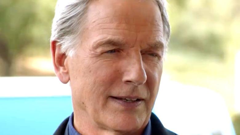 Gibbs talks on NCIS