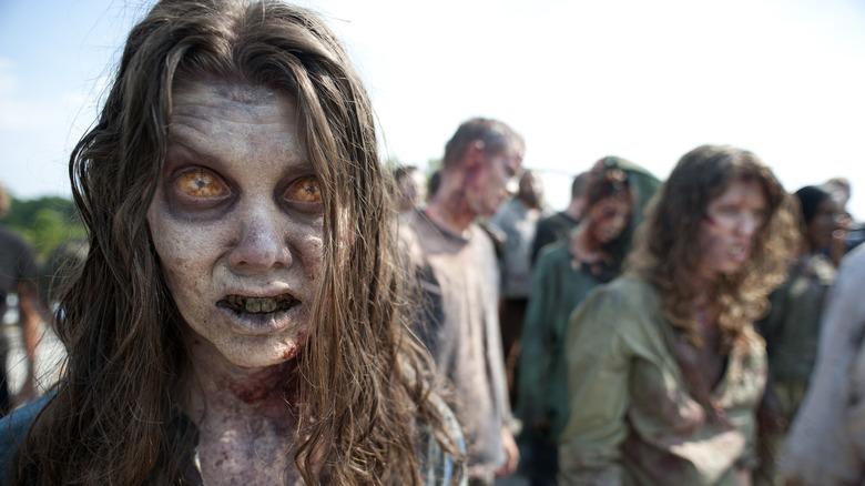 Walkers in season 2 of AMC's The Walking Dead