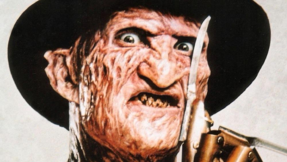 Freddy Krueger Baring Claws