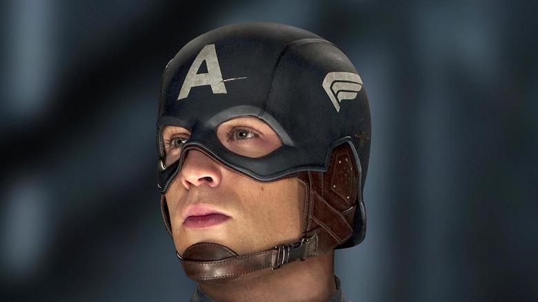 Steve Rogers head sideways